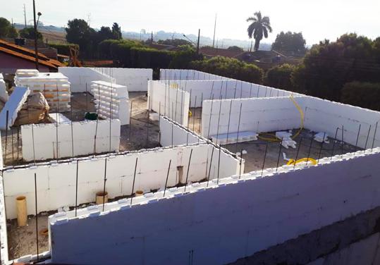 Projetos de isopor para Contrução